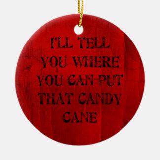 Where You Can Put That Candy Cane Christmas Ornament