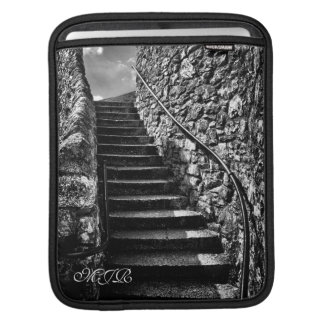 Where Your Steps Lead - Monogram Sleeve For iPads