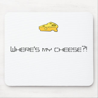 Where's my cheese?! mouse mat