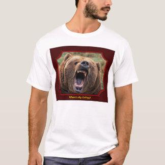 """Where's My Coffee?"" Bear T-Shirt"