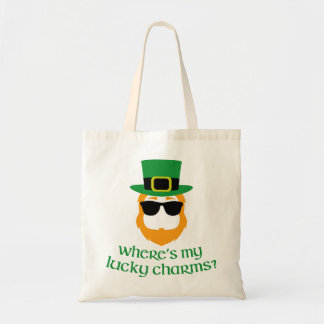 Where's My Lucky Charms? Budget Tote Bag