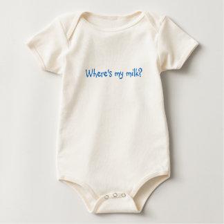 Where's my milk? baby bodysuit