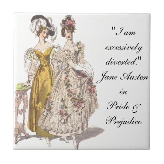 Where's My Mr. Darcy? Tile