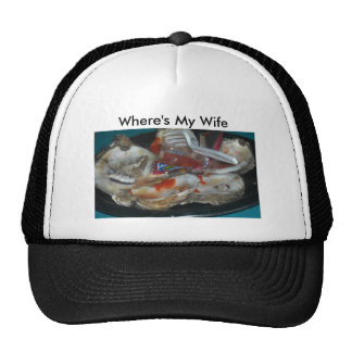 Where's My Wife Oyster Hat