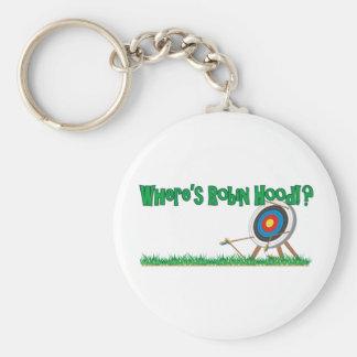 Where's Robin Hood Key Ring