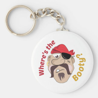 Where's The Booty? Key Chain