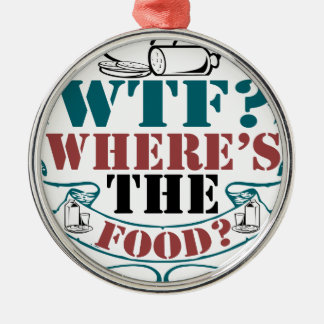Where's The Food? Christmas Ornament