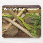 Where's the mouse? mouse mat