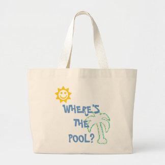 WHERE'S THE POOL BAG