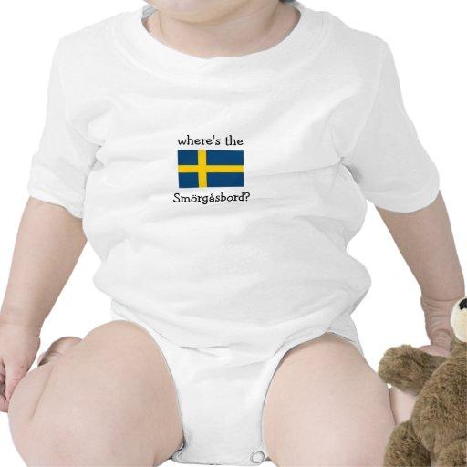 where's the Smörgåsbord? T-shirts