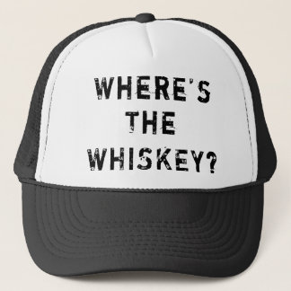 Where's The Whiskey Trucker Hat