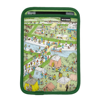 Where's Waldo Campsite iPad Mini Sleeve