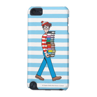 Where's Waldo Carrying Stack of Books iPod Touch 5G Covers