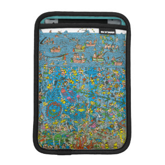 Where's Waldo Deep Sea Divers iPad Mini Sleeve