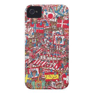 Where's Waldo Enormous Party iPhone4 Case