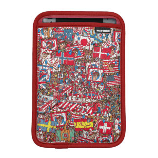 Where's Waldo Enormous Party iPad Mini Sleeve