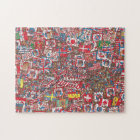 Where's Waldo Enormous Party Jigsaw Puzzle