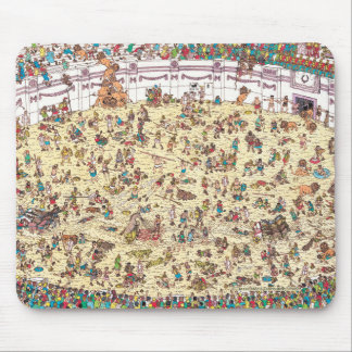Where's Waldo | Fun and Games in Ancient Rome Mouse Mat