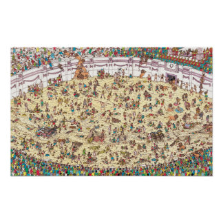 Where's Waldo | Fun and Games in Ancient Rome Poster