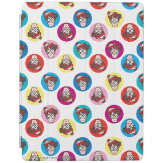 Where's Waldo Fun Circle Pattern iPad Cover