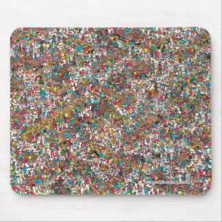 Where's Waldo   Gobbling Gluttons Mouse Mat