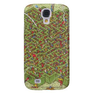 Where's Waldo Great Escape Galaxy S4 Case