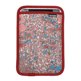Where's Waldo Land of Woofs iPad Mini Sleeve