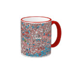 Where's Waldo Land of Woofs Ringer Mug