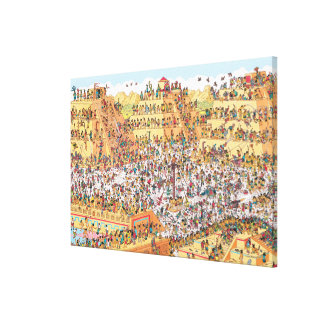 Where's Waldo | Last Days of the Aztecs Canvas Print
