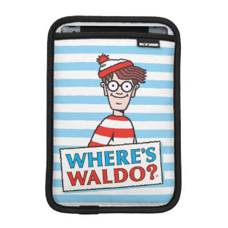 Where's Waldo Logo iPad Mini Sleeve