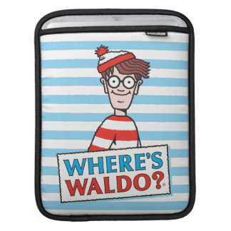 Where's Waldo Logo Sleeves For iPads