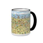 Where's Waldo on the Beach Coffee Mug