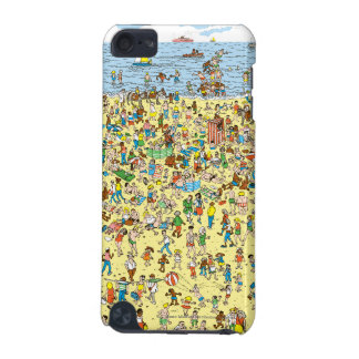 Where's Waldo on the Beach iPod Touch 5G Case