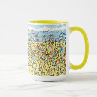 Where's Waldo on the Beach Mug
