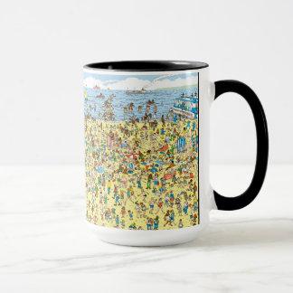 Where's Waldo on the Beach Mug