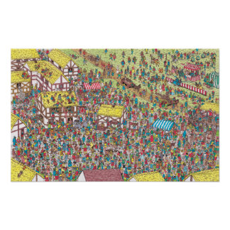 Where's Waldo | Once Upon a Saturday Morning Poster