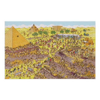 Where's Waldo   Riddle of the Pyramids Poster