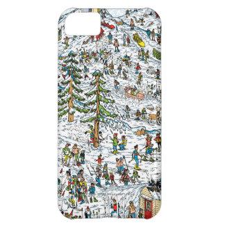 Where's Waldo Ski Slopes iPhone 5C Case