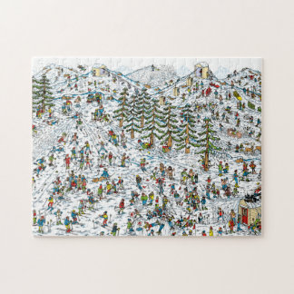 Where's Waldo Ski Slopes Puzzles