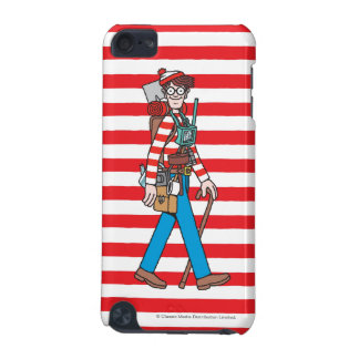 Where's Waldo with all his Equipment iPod Touch (5th Generation) Cases