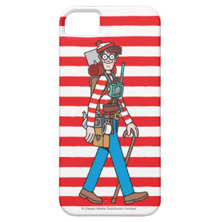 Where's Waldo with all his Equipment iPhone 5 Covers