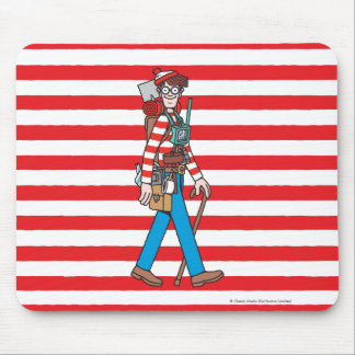Where's Waldo with all his Equipment Mouse Mat