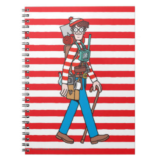 Where's Waldo with all his Equipment Spiral Notebook