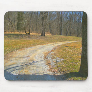 Wherever The Road Leads Mouse Pads