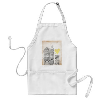 Wherever we are Together Aprons