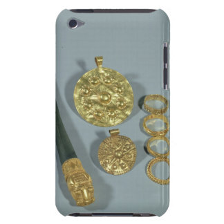 Whetstone and rings with granulated decoration, Su iPod Touch Cases