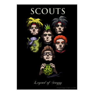 Which boyscout were you? poster