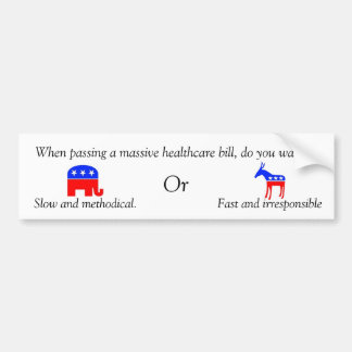 which do you want bumper sticker