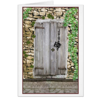 Which Music Clef as Key Fits Mysterious Door Card