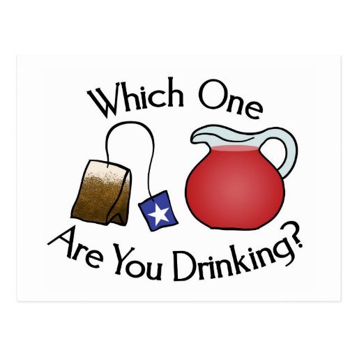 Which One Are You Drinking? Post Cards